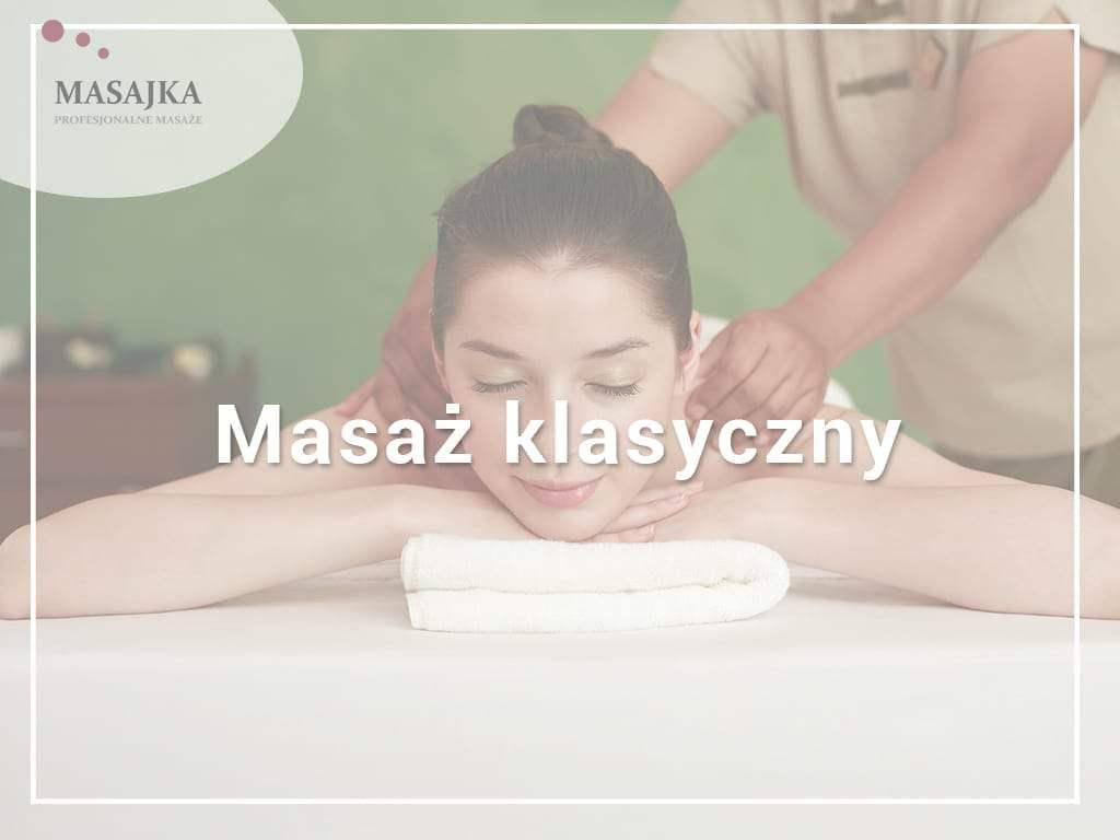 masaż klasyczny pleców